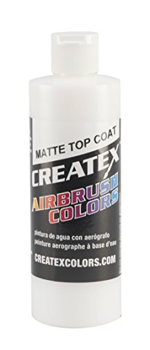 Createx Colors Matte Top Coat for Airbrush, 8 oz
