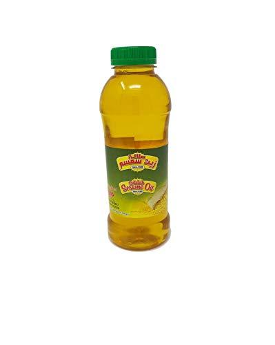 Olio di sesamo - Sesamo puro al 100% Prodotto eticamente per cucinare (500 ml)