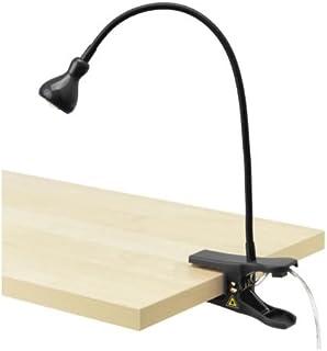 Ikea 803.863.19 Jansjo LED Clamp Spotlight, Black, Multi-Function,