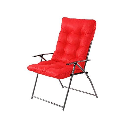 JIEER-C vrijetijdsstoelen, klapstoel, zonneligstoel, chaiselongue, luier, stoel met computerstoel, vrijetijdsslaapzaal, kantoor, balkon, sterk, antislip, duurzaam en sterk 4