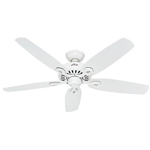 Hunter Deckenventilator Builder Elite Flügel, 1 Stück, 132 cm, weiß, 50565