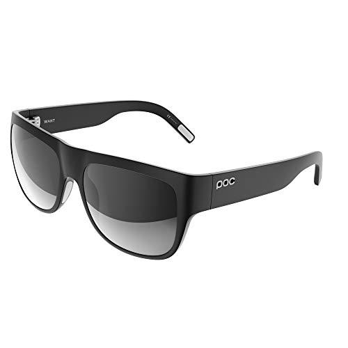 POC Want Gafas, Unisex Adulto, Negro (Uranium Black/Hydrogen White), 14.9