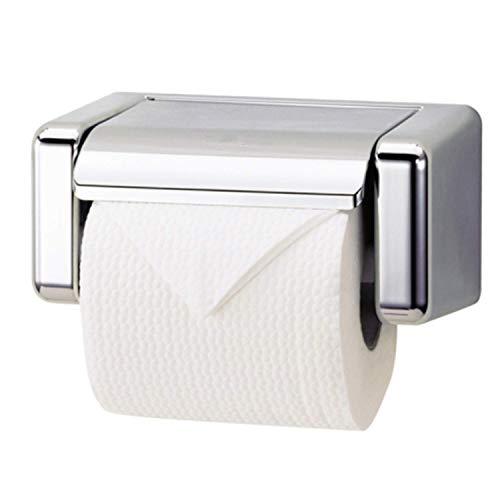 AOIWE Soporte de Papel higiénico, Soporte de Papel de Papel higiénico con Estante, Acero Inoxidable níquel Cepillado