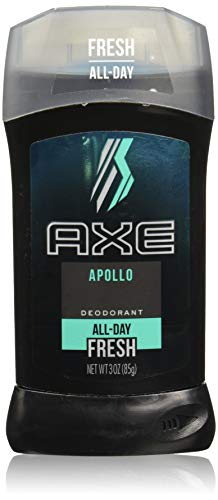 Axe Fresh Deodorant Stick, Apollo 3 oz (Pack of 4)