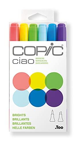 Copic - Set di pennarelli, taglia unica, multicolore