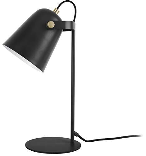 Present time - Lampe à poser fer noir mat STEADY
