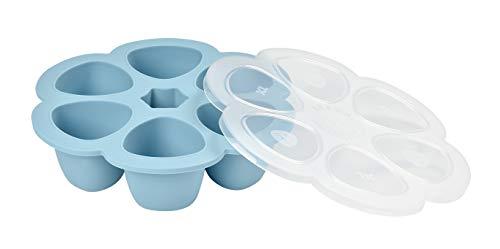 BÉABA Multiportions Silicone 6x150 ml, Bleu