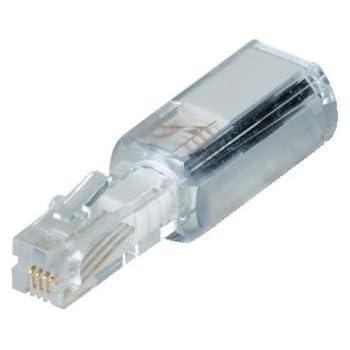 2m nero Spiralkabel Cornetta del telefono cavo good Connections