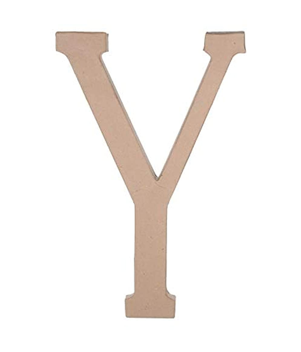 Darice 2860-Y Paper Mache Letter Y 23.5In