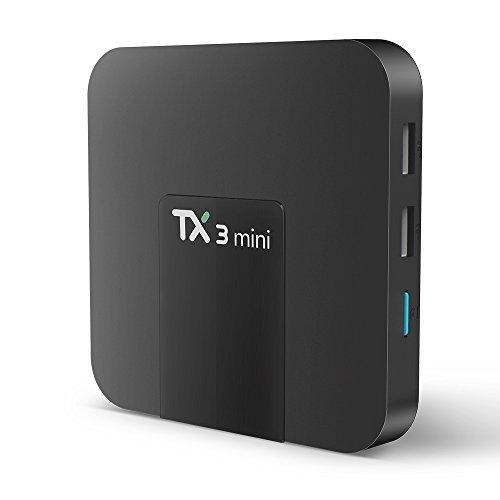TX3 Mini Android TV Box Amlogic S905W Quad Core 2GB/16GB Android 7.1 Smart Tv Box 4K HD WiFi DLNA AirPlay H.265 HDMI Set Top Box