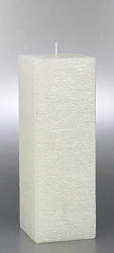 Formenkerze Turm 22x7,5 cm (Turmkerze perlmutt) - 8746 - Sonderform Turm