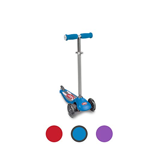 Radio Flyer Lean #039N Glide Scooter with Light Up Wheels Kids Scooters Blue