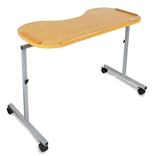 WUHX La Mesa para el Cuidado de la cabecera de la Cama, la Mesa portátil Ajustable para Silla de Cama, es Conveniente para usuarios, Ancianos, Pacientes, discapacitados