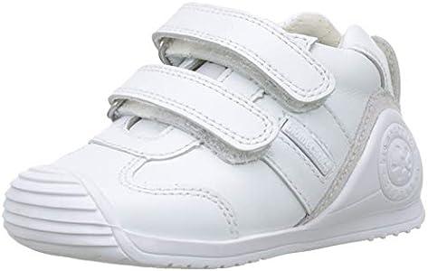 Biomecanics 151157-1, Zapatillas de Estar por casa Unisex niños, Blanco (Blanco (Sauvage) Colores), 24 EU