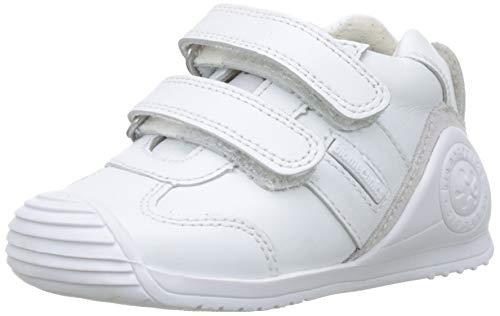 Biomecanics 151157-1, Zapatillas de Estar por casa Unisex niños, Blanco (Blanco (Sauvage) Colores), 22 EU