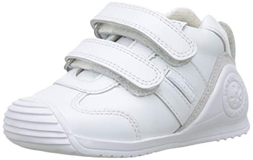 Biomecanics 151157-1, Zapatillas de Estar por casa Unisex niños, Blanco (Blanco (Sauvage) Colores), 19 EU