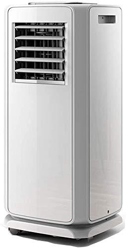 Portable Air Conditioner, Ventilator luchtontvochtigers Heater 4-in-1 Cool/Fan/Dehumidify w/Remote Control, stille en energiezuinige Met luchtslang (Maat: Single koud) ZHW345