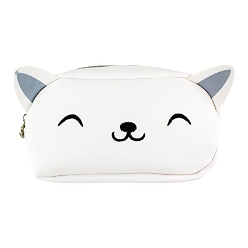 Paladone Kitty Cat Shaped Cosmetic Bag Makeup Pouch