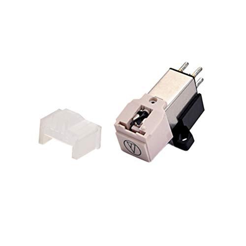 EXCEART Gramófono Fonógrafo Tocadiscos Cartucho Magnético Aguja de Vinilo con Kit de Aguja de Vinilo Lp Accesorios de Gramófono Partes de Gramófono Negro