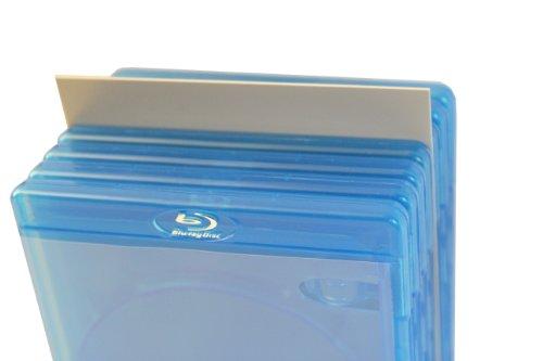 Blu-ray Registerwände grau Protected (25 Stück)