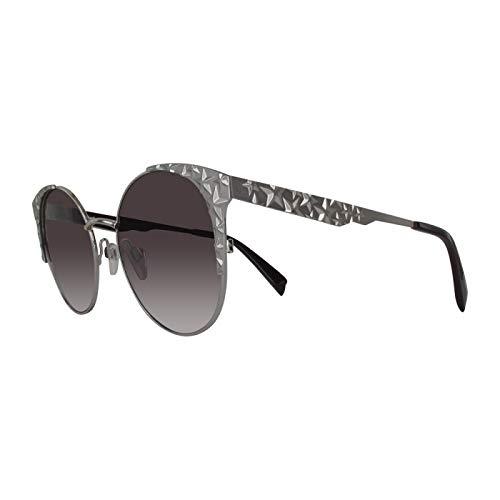 Just Cavalli Jc866s-16z-55 - Gafas de sol para mujer, color plateado