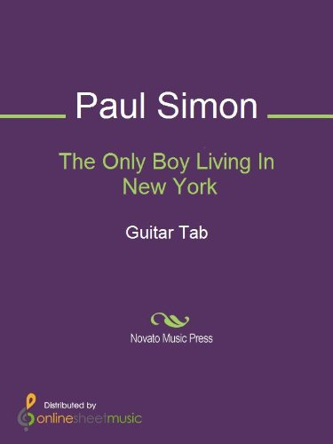 The Only Boy Living In New York (English Edition)