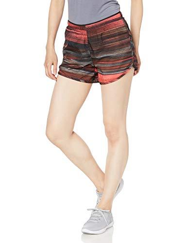 SALOMON Agile Short W Shorts para Running, Granate (Winetasting), Talla S para Mujer