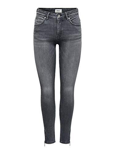 ONLY Female Skinny Fit Jeans ONlKendell Life Reg Ankle 3130Medium Grey Denim
