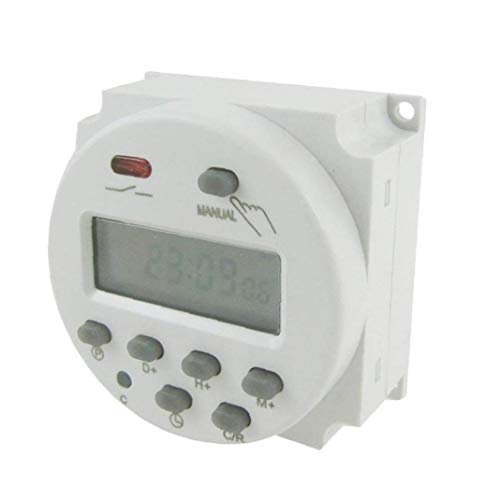 potente para casa Timer Sync Temporizador eléctrico profesional digital programable Aardich con dos salidas …