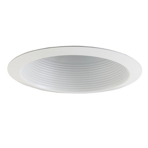 "All-Pro ERT-513WHT 5"" Trim, Gloss White Metal Baffle, Full Cone Refl, Self Flanged (Case of 12)"