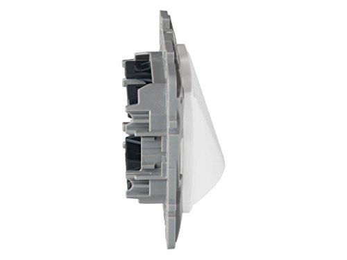 legrand 664395E Placa para Salida de Cables Blanco