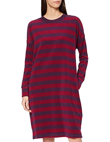 Schiesser Damen Sleepshirt 1/1, 100cm Nachthemd, Pflaume, 44