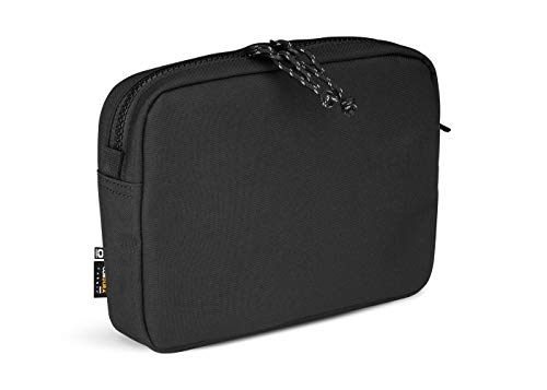 OGIO Unisex's Alpha Convoy Eco-Codura MOD Organisation Soft Pouch with Secure YKK Clips and Zipper, Black, One Size