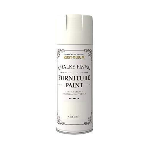 Rust-Oleum AE0525400UK Spray Paint, Chalk Wh