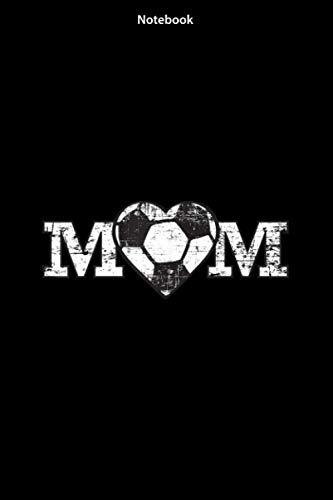 Notebook - Soccer Mom Heart Simple Fan Gift: Notebook Journal