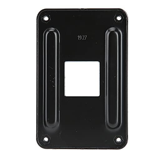 Dilwe Placa Posterior AM4, Soporte de disipador de Calor de CPU de Hierro Duradero, Placa Posterior Placa de Montaje de refrigeración por Agua para Ventilador de CPU Solamente para Plataforma AM4