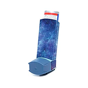 MightySkins Skin for Ventolin HFA Asthma Inhaler - Nebula | Protective Durable and Unique Vinyl Decal wrap Cover | Easy to Apply Remove and Change Styles | Made in The USA