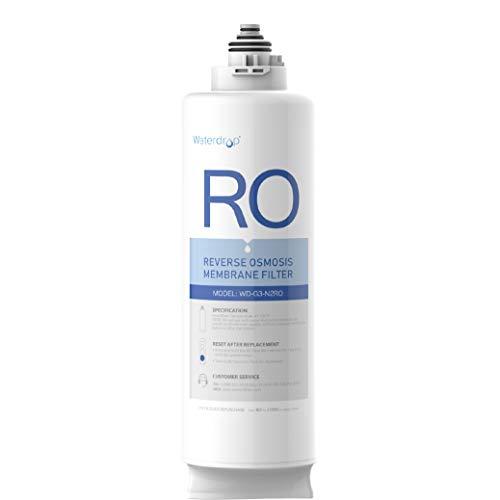 Waterdrop Filtro WD-G3-N2RO, 2 años de vida útil, reemplazo para el sistema de ósmosis inversa WD-G3-W