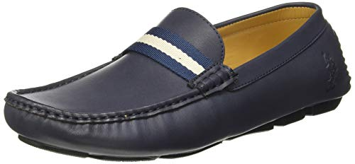 7. US Polo Association Men's Bickford Navy Loafers
