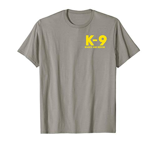 K9 Search and Rescue Uniform SAR Search Team Shirt T-Shirt