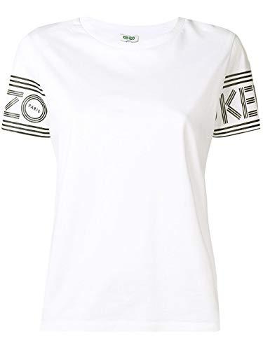 Luxury Fashion | Kenzo Dames F002TS79398501 Wit Katoen T-shirts | Lente-zomer 20