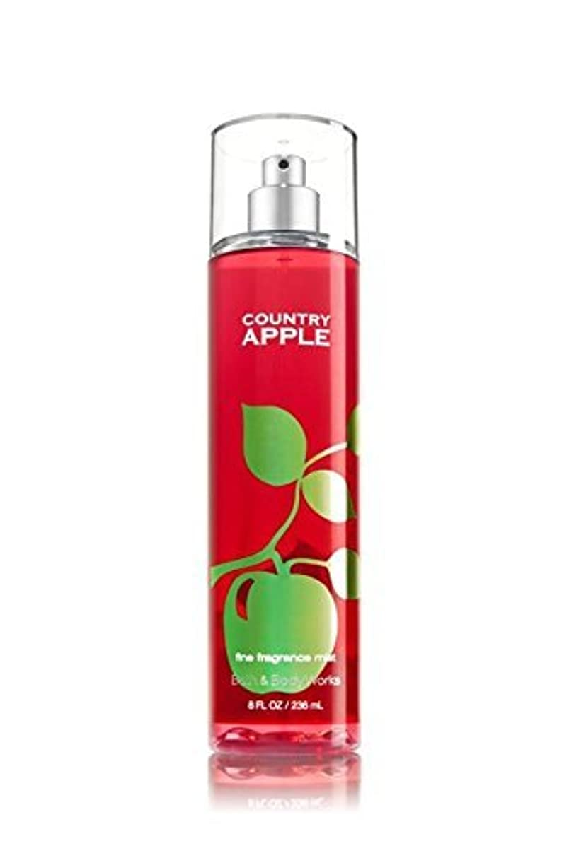 ポーチアナログ激怒【Bath&Body Works/バス&ボディワークス】 ファインフレグランスミスト カントリーアップル Fine Fragrance Mist Country Apple 8oz (236ml) [並行輸入品]