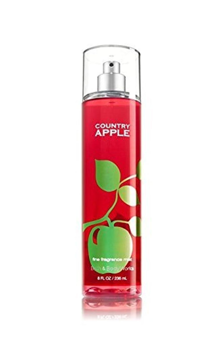 可決望まない雪の【Bath&Body Works/バス&ボディワークス】 ファインフレグランスミスト カントリーアップル Fine Fragrance Mist Country Apple 8oz (236ml) [並行輸入品]