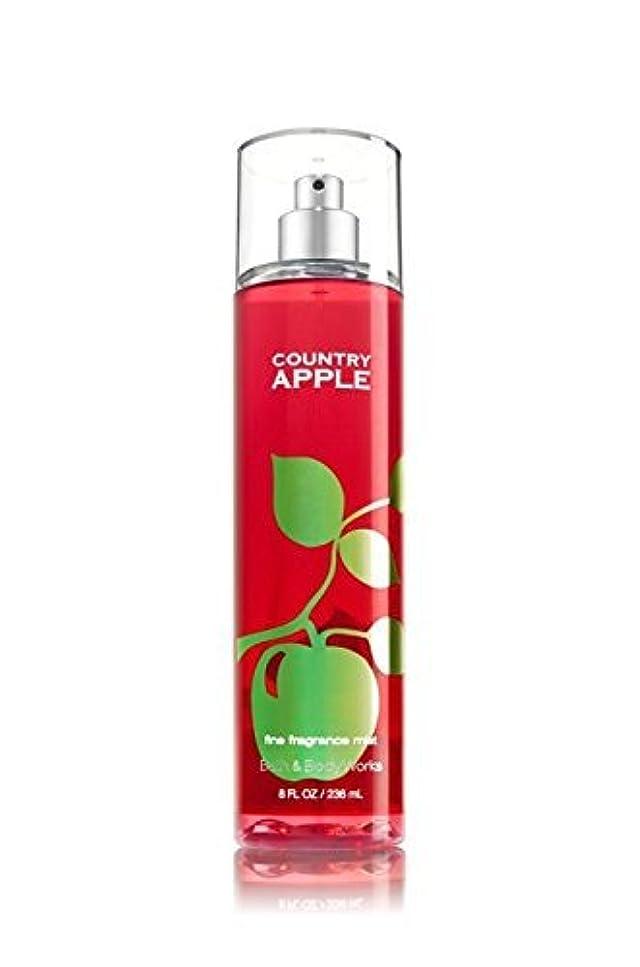 ラップ五十ファーム【Bath&Body Works/バス&ボディワークス】 ファインフレグランスミスト カントリーアップル Fine Fragrance Mist Country Apple 8oz (236ml) [並行輸入品]