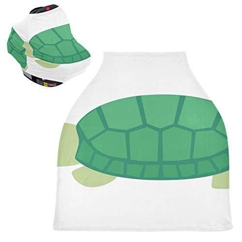 Stretchy Nursing Cover Boy Diligent Dedicated Lovely Tortoise Washable Shopping Cart Cover Car Seat Shopping Cart Cover Summer Car Seat Covers for Baby Boys Protects Babies and Breastfeeding Mothers