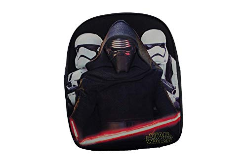 Star Wars Force Officially Licensed Backpack- Plain/Personalised School Presents Quality Product Stitching Padded Shoulder Straps Tension Resistant 100% Polyester (Plain)