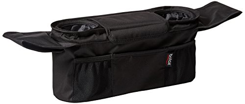 Britax Stroller Organizer with Cup Holders, Black