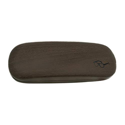 Skareop Estuche Gafas de Sol Funda Rígida Gafas de Sol Caja para Gafas Impermeable para Mujer Niña Hombre Size 16 * 6 * 3.8cm (Negro)