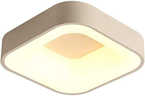 Smotly Moderne LED plafondlamp plafondlamp plafondlamp plafondlamp plafondlamp plafondlamp plafondlamp plafondlamp plafondlamp LED vloerlamp acryl lampenkap (lichtgrijs wit 45cm)
