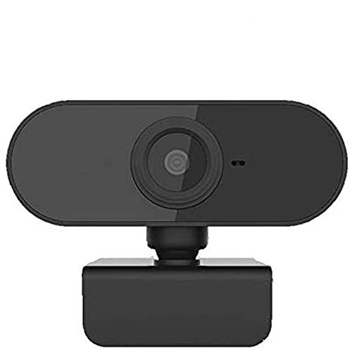 CHENALIFE HD 1080p Webcam with Built-in Noise Reduction USB High-Definition Webcam Microphone Streaming Webcam for PC Desktop Laptops Can Be Used for Video Calls Meetings Recording